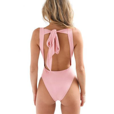 the back of the erica backless bodysuit